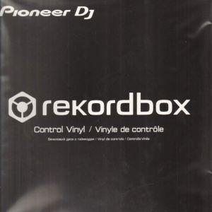 PIONEER DJ RB-VD1 rekordbox Control Vinyl BLACK (CONFEZIONE DA 2)