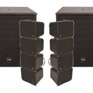 MONTARBO FIVEO LINE ARRAY DJ BUNDLE (GS+DF12A)