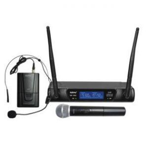 KARMA SET 6092PL DOPPIO RADIOMICROFONO VHF (ARCHETTO+GELATO)