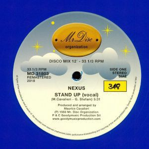 STAND UP (REMASTERED) BLACK-VINYL