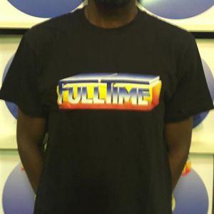 T-SHIRT FULLTIME BLACK (XXL)