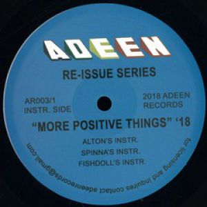 MORE POSITIVE THINGS (INCL. DJ SPINNA RMX)
