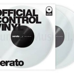 SERATO OFFICIAL CONTROL VINYL CLEAR - TIME CODE