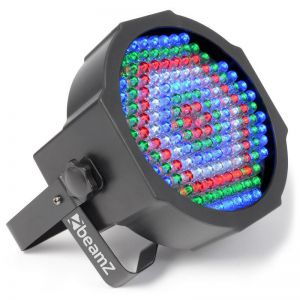 BEAMZ FLATPAR 154X10MM RGWB LEDS IR DMX  PAR LED