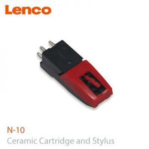 LENCO N10 CERAMIC CARTRIDGE AND STYLUS