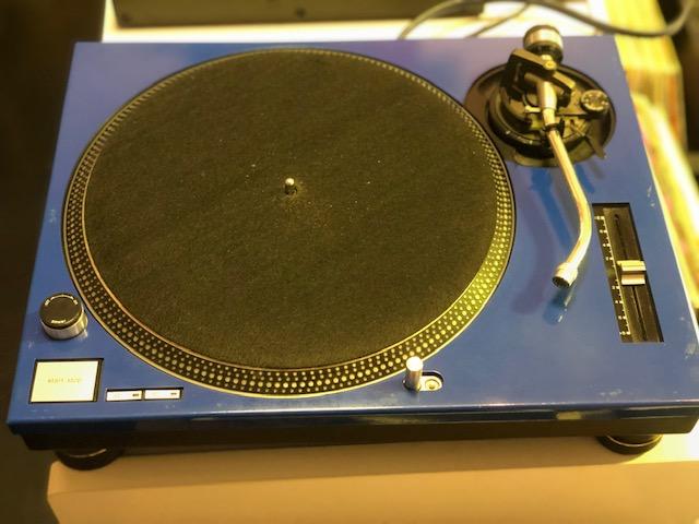 COPPIA COVER BLUE PER GIRADISCHI TECHNICS SL 1200 MK2 - SL 12010 MK2 - USATO