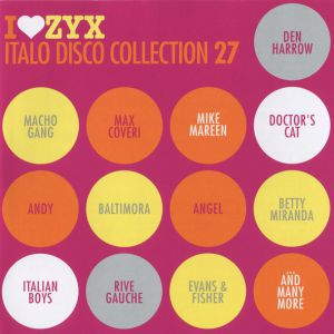 I LOVE ZYX ITALO DISCO COLLECTION 27 (3XCD)