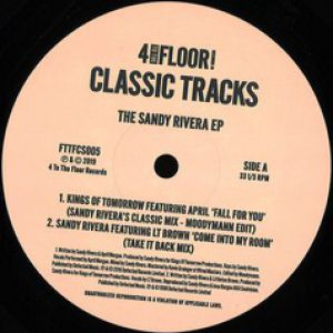 THE SANDY RIVERA EP (MOODYMANN EDIT)