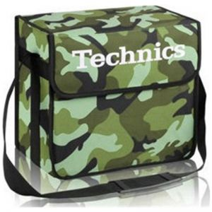TECHNICS DJ BAG CAMO-GREEN