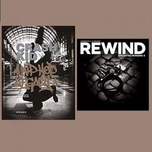 LIBRO CRASH KID + EPICENTRO ROMANO 4 DOPPIO VINILE REWIND EP