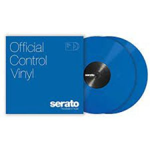 "10"" Serato Control Vinyl - Standard Colors - BLUE TIME CODE"