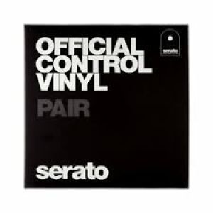 SERATO OFFICIAL CONTROL VINYL BLACK