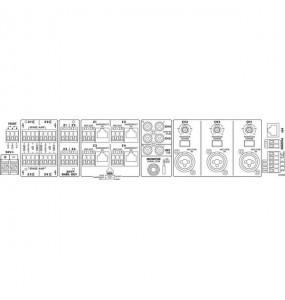 MONACOR PA 4040 AMPLIFICATORE MIXER MONO A 4 ZONE 20W