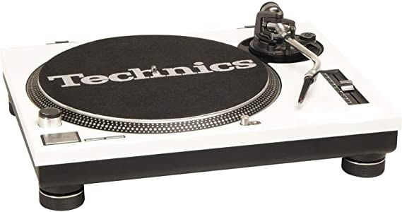 GOODY MUSIC COVER WHITE PER GIRADISCHI TECHNICS SL 1200 MK2 - SL 1210 MK2 (SINGOLO)