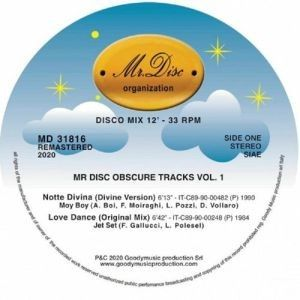 MR DISC OBSCURE TRACKS VOLUME 1