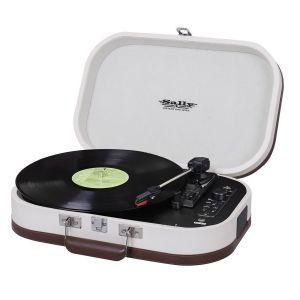 Giradischi Portatile Sally MP3 USB Bluetooth TREVI TT 1020 BT BEIGE