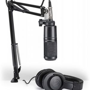 AUDIO TECHNICA Creator Pack Kit per Podcast, Streaming e Recording