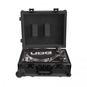 UDG U91029BL2 Ultimate Flight Case Multi Format Turntable Black MK2 Plus