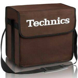 TECHNICS DJ BAG BROWN