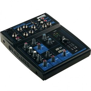 GEMINI GEM 05 USB MIXER AUDIO BLUETOOTH / USB 5 CANALI