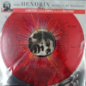 MUSIC IS MY RELIGION - LP LIMITED ED. RED SPLATTER