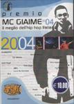 PREMIO MC GIAIME 2004